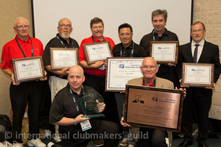 Award ceremony for 2015 ICG Clubmaker of the Year